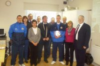 HGBC members with Paul Turnball and Mike Smith